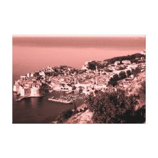 Dubrovnik - Kroatien - panorama 3 Canvastryck