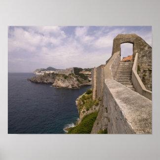 Dubrovnik Kroatien Poster