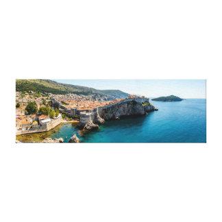 Dubrovnik panorama canvastryck