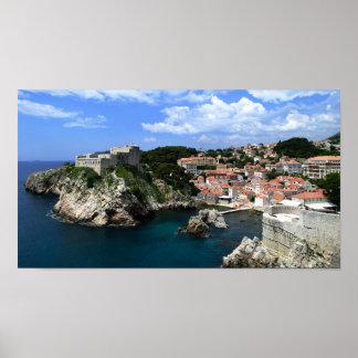Dubrovnik slott poster