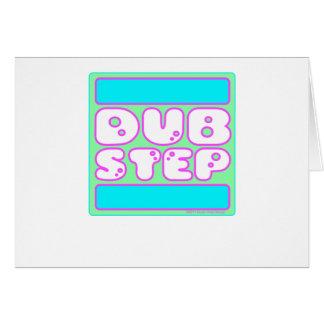 DUBSTEP Bubblegum Hälsningskort