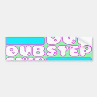 DUBSTEP-klistermärke Bildekaler