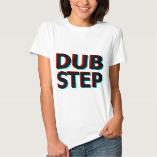 Dubstep kliver den nedsmutsada duben bas- tee shirts