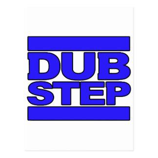 DUBSTEP-logotypblått Vykort