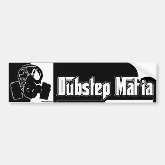 DUBSTEP-maffian dubbar kliver musik Dubstep som at Bildekal