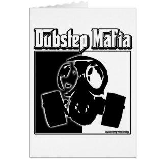 DUBSTEP-maffian dubbar kliver musik Dubstep som at Hälsnings Kort