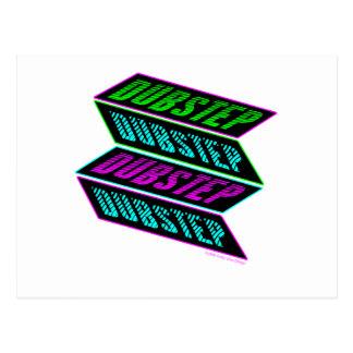 DUBSTEP-neon Vykort