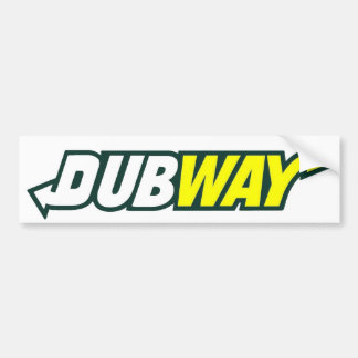 Dubway Parady bildekal