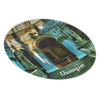 Ducal slott - Venedig Tallrik