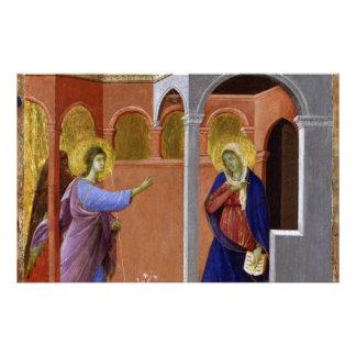 Duccios Annunciation Brevpapper