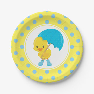 Ducky med paraplybaby shower
