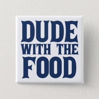Dude med matblåtten standard kanpp fyrkantig 5.1 cm