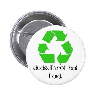 Duden är det inte som knäppas hårt standard knapp rund 5.7 cm