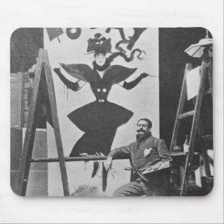 Dudley härdad målning en affisch musmatta