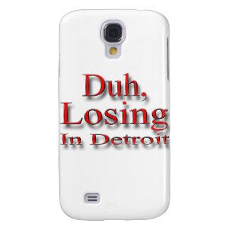 Duh och att förlora i röda Detroit Galaxy S4 Fodral