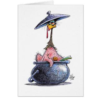 Dumbom thanksgivingkortet OBS kort
