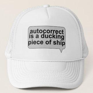 Dumma Autocorrect suger Truckerkeps