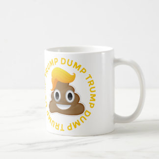 Dumpa det trumf#DumpTrumpAnti-Trumf Donald bajset Kaffemugg