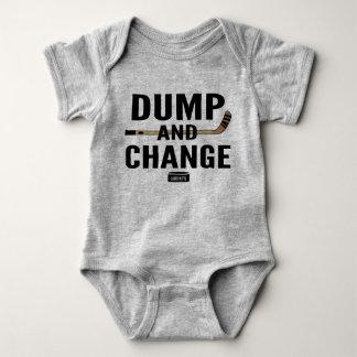 Dumpa och ändra pinnar för färg för tröja