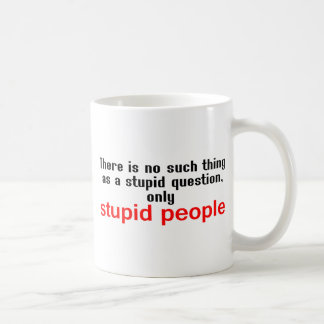 Dumt folk kaffemugg