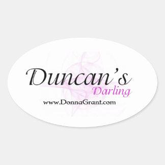 Duncan Ovalt Klistermärke