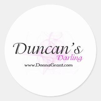 Duncan Runt Klistermärke