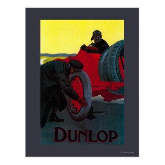 Dunlop vintage PosterEurope Vykort