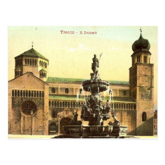 Duomo di Trento Vykort