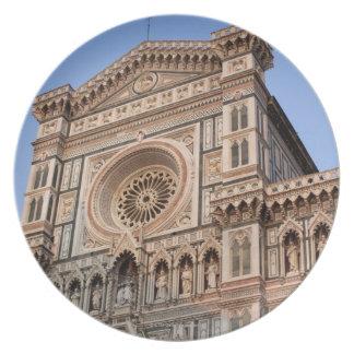 Duomoen, Florence, italien 2 Tallrik