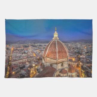 Duomoen i Florence, italien Kökshandduk