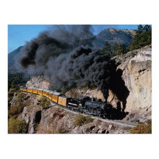 Durango och Silverton järnväg, nr. 481, björnCree Vykort