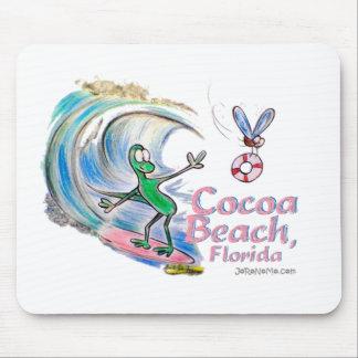 Durante som surfar kakaostranden, Florida Musmattor