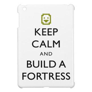 Dvärg- fästningbehållalugn och bygger ett fästning iPad mini fodral