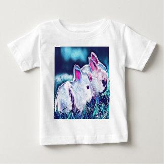 Dvärg- kaniner för natt tee shirts