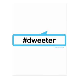 Dweeter (berusad disktanthögtalare) vykort