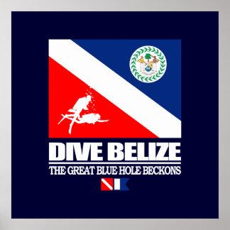 Dyk Belize Poster