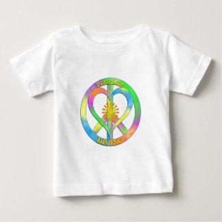 Dyka för fredkärlek t shirt