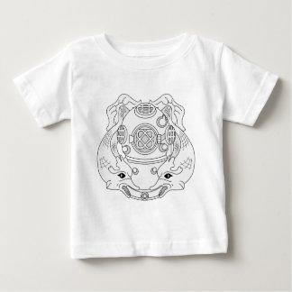 Dykare 1st klassificerar tshirts