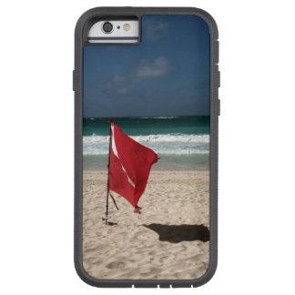 Dykflagga på stranden tough xtreme iPhone 6 skal