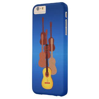 Dynamiska gitarrer barely there iPhone 6 plus fodral