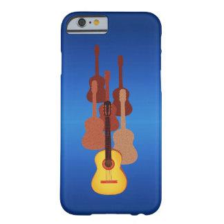 Dynamiska gitarrer barely there iPhone 6 skal