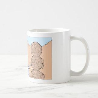 dyngaskalbaggen bygger en unik kolonn kaffemugg