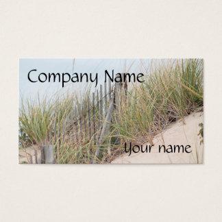 Dyngräs och strandstaket visitkort