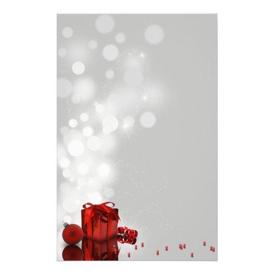 Dyrbar julklapp - brevpapperbrevhuvud brevpapper
