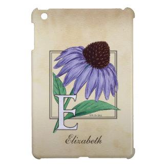 E för Echinaceablomma iPad Mini Skydd