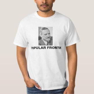 EarlBrowder CPUSA populär Frontin T-tröja Tee