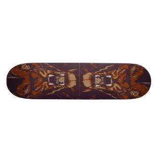 ~EARTH RISING~RAGE~AGAINST MACHINE~-skateboarden Old School Skateboard Bräda 21,6 Cm