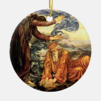 Earthbound vid Evelyn De Morgan Julgransprydnad Keramik