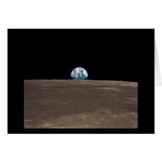 Earthrise - Apollo 11 Hälsningskort