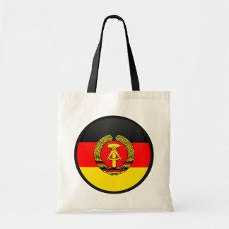East Germany cirklar den kvalitets- flagga Tygkasse